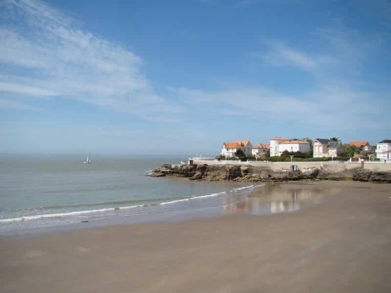 Vue d'une plage de Royan