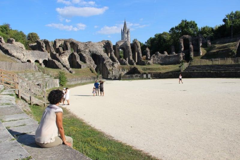 Vestiges romains à Saintes