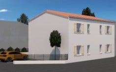 Côté parking location proche cure résidence Hestia Locathermes à Jonzac
