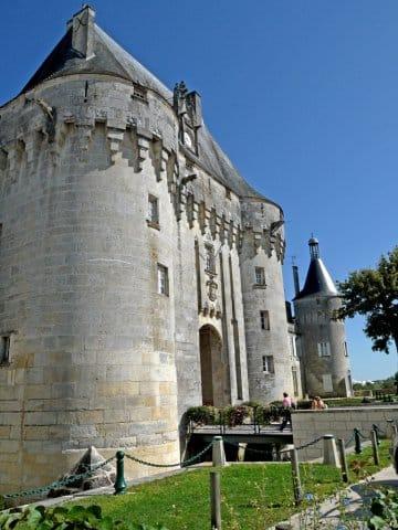 CDCHS V.Sabadel - Châtelet du château de Jonzac