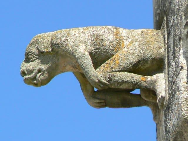 CDCHS V.Sabadel - Gargouille du château de Jonzac