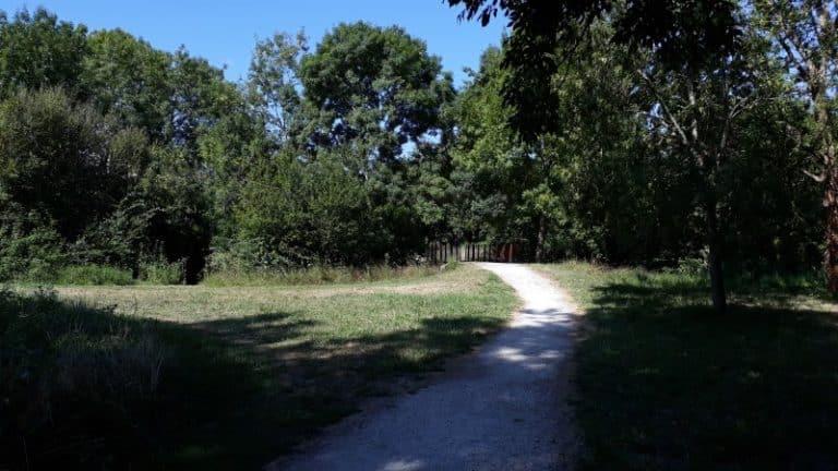 Le chemin des thermes de Jonzac