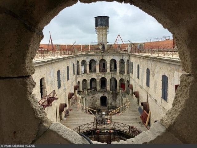 Vue de l'intérieur de Fort Boyard | © Stéphane Villain