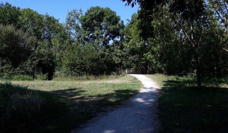 Chemin des thermes de Jonzac par le parcours santé