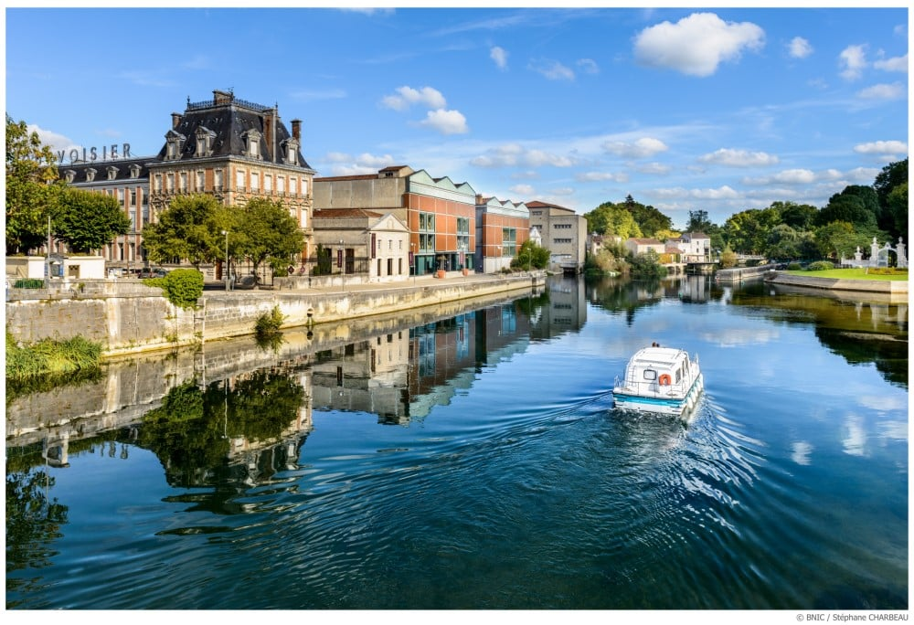 Le fleuve Charente à Jarnac