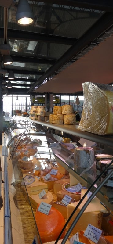 Fromagerie au marché