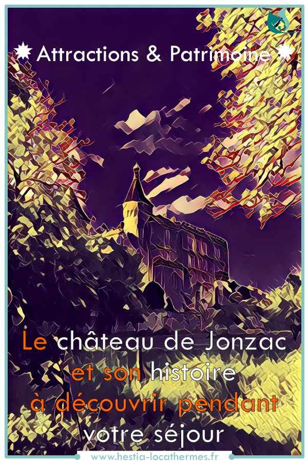 Patrimoine de Jonzac et son château