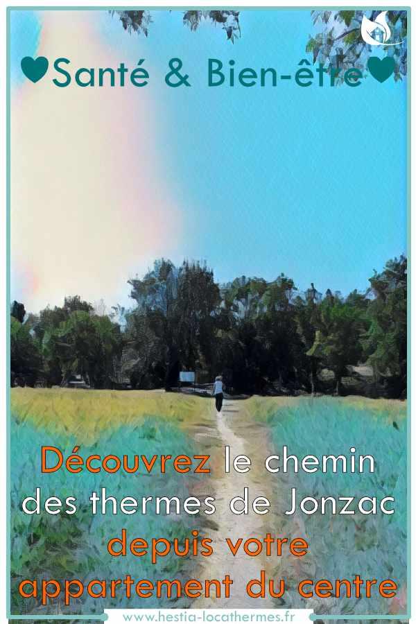 Le chemin des thermes de Jonzac pour votre cure thermale
