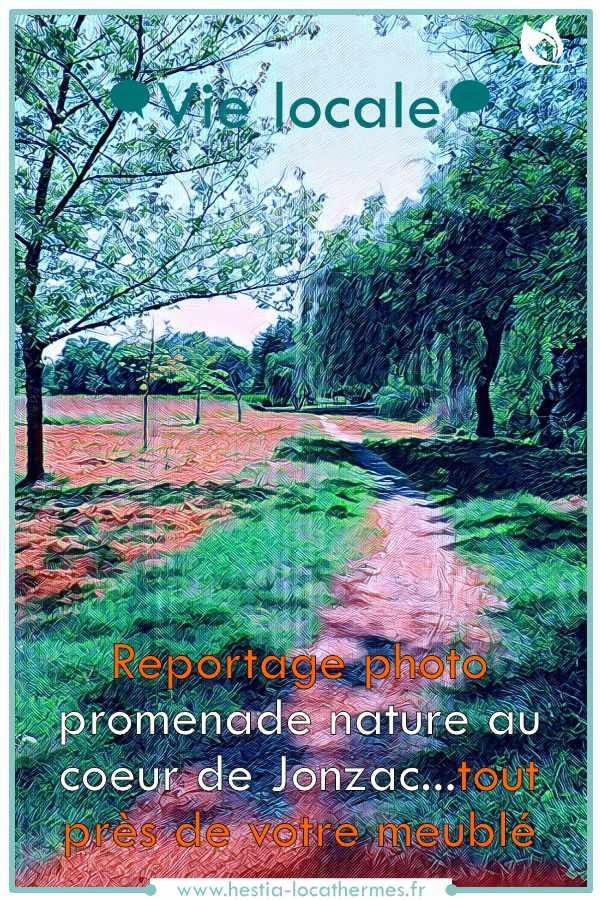 Vie locale et promenade nature à Jonzac