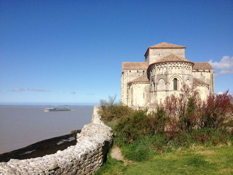 Eglise Sainte-Radegonde à Talmont-sur-Gironde