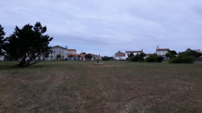 Vue du bourg de l'île d'Aix