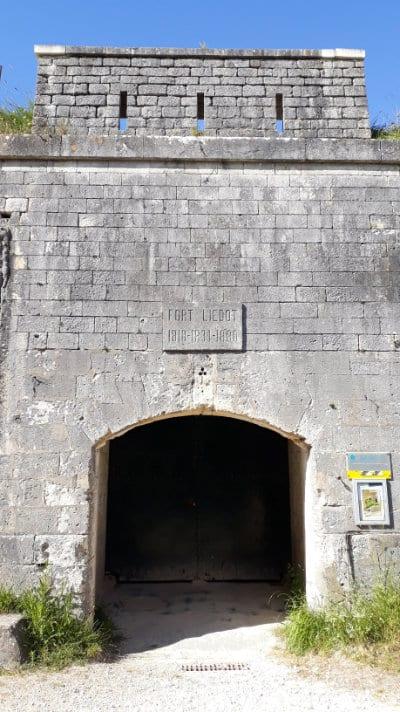Entrée du Fort Liédot