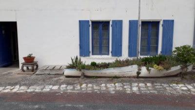 Maison du bourg de l'île d'Aix