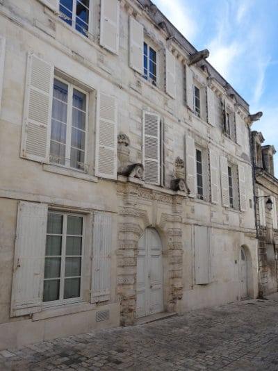 Maison vieilles pierres à Cognac