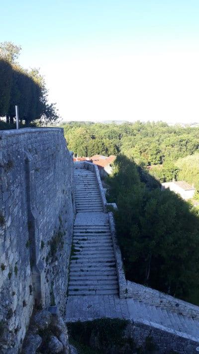 Escalier César Phébus d'Albret à Pons