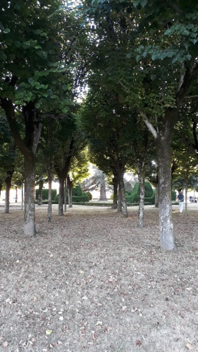 Jardin public château de Pons