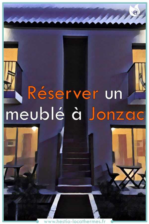 Réservation de meublé de tourisme à Jonzac