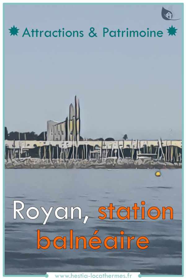 Royan, station balnéaire Charente-Maritime