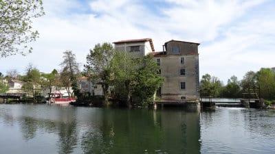 Saint-Simeux et la Charente