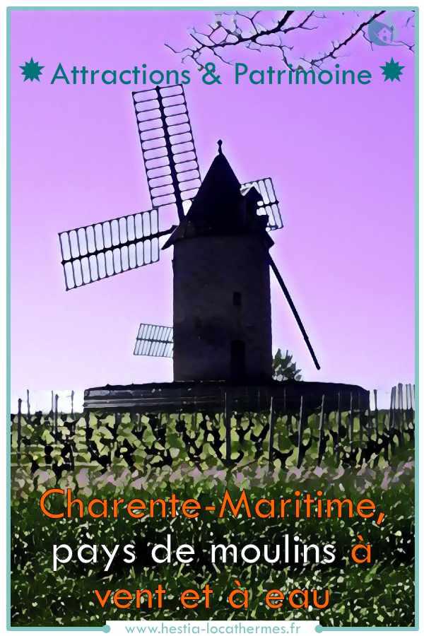 Moulins du pays charentais