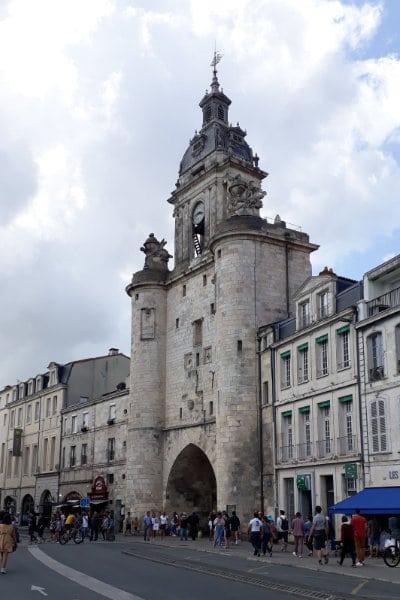 Porte de l'horloge à La Rochelle