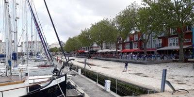 Quais du vieux-port de La Rochelle